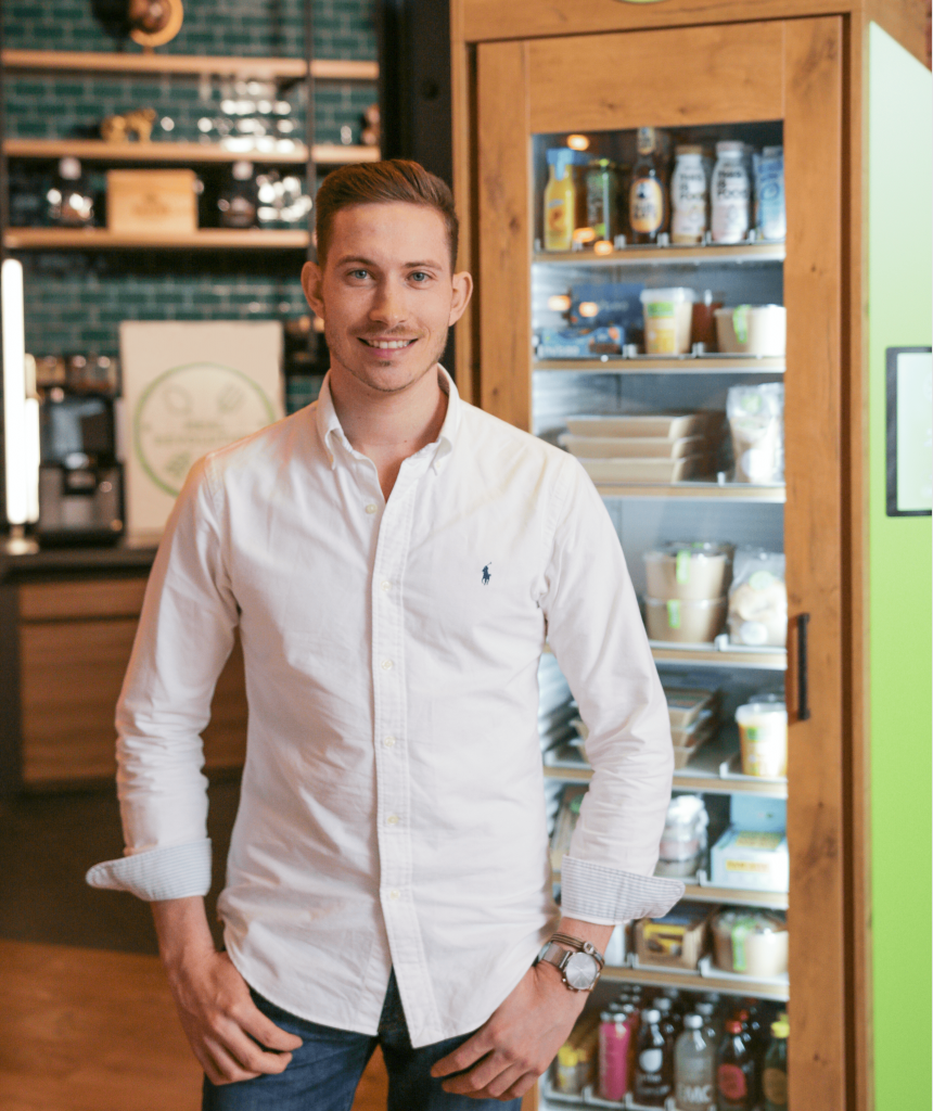Essensautomat mit Christopher Fromm